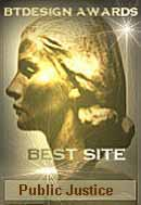 BT Design's Best Site Award