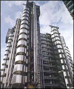 Lloyd's of London building, designed by Lord Rogers (BBC photo).
